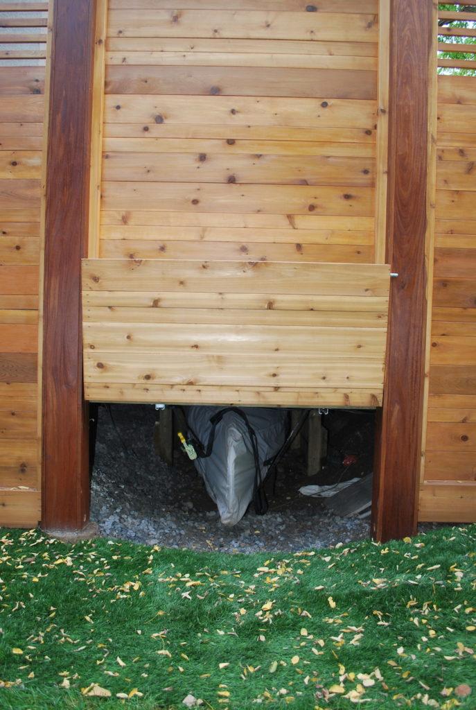 Canoe storage_