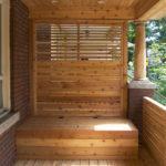 Front porch with garbage bin storage(5)