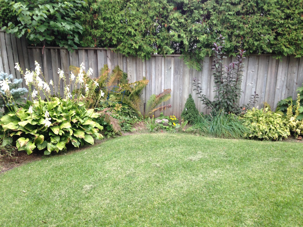 Garden edging makes all the difference