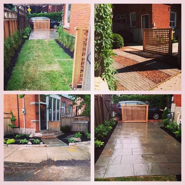 Maximized urban garden space