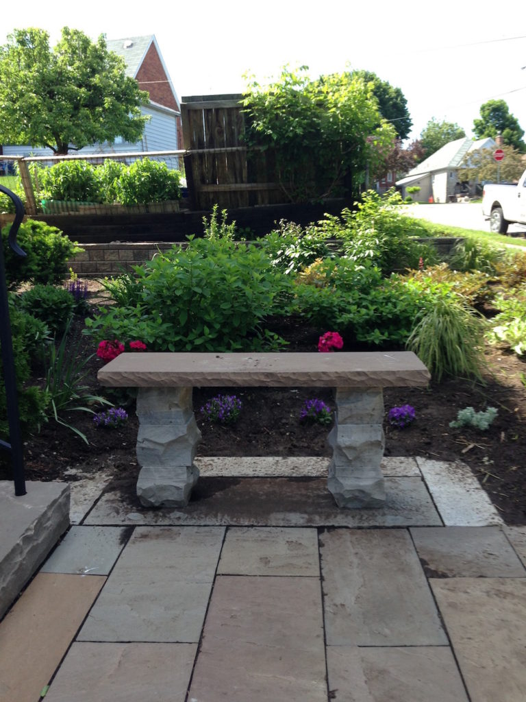 Stone bench_