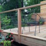 Wire railing