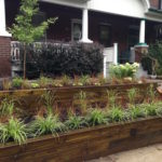 Wood retaining wall(1)