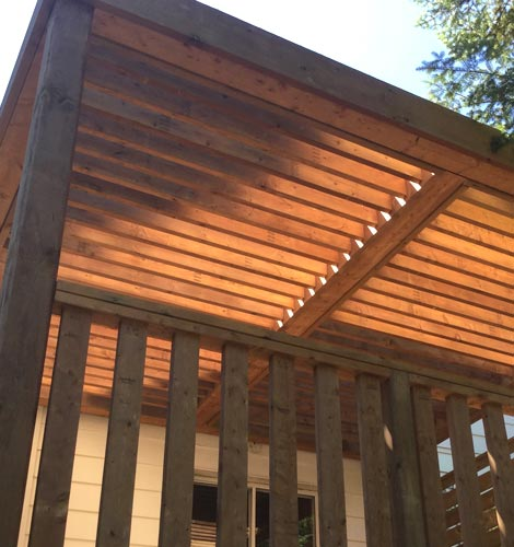 pergolas and gazebos in Toronto